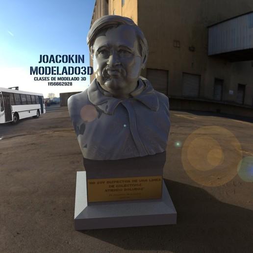 Télécharger plan imprimante 3D Buste d'une assistante de boludos- Par JoacoKin, JoacoKin