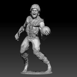 Télécharger STL Maradona Werewolf, JoacoKin