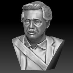 Télécharger modèle 3D Alberto Fernandez Président de l'Argentine (Version 2.0), JoacoKin