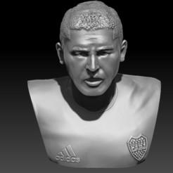 rikkkkkkkkkka.jpg Télécharger fichier OBJ Buste de Riquelme • Modèle pour impression 3D, JoacoKin
