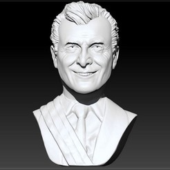 Download 3D printer designs Mauricio Macri President of Argentina, JoacoKin
