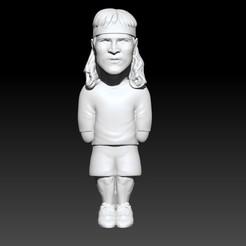 Impresiones 3D Hugo Orlando Gatti modelo 3D para metegol, JoacoKin