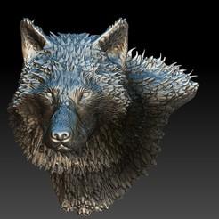 Download 3D printer designs Wolf for jewlery - Lobo para joyeria, JoacoKin