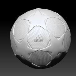 Télécharger STL Ballon de la finale 2002 de l'UCL - Ballon, JoacoKin