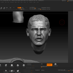 Descargar archivo OBJ Juan Roman Riquelme (Dividio en partes) • Plan imprimible en 3D, JoacoKin