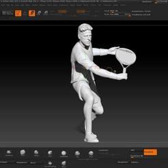 Descargar diseños 3D Juan Martin Del Potro - Delpo, JoacoKin