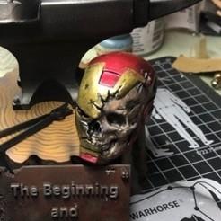 "Impresiones 3D Iron Man Skull  ""Zombiron man"", JoacoKin"