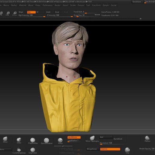Download 3D model Jonas Kahnwald (Dark), JoacoKin