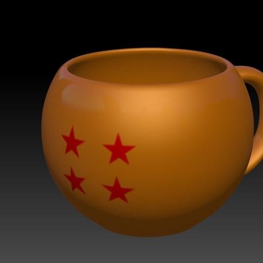 Download 3D printing models Dragon Ball Cup - Dragon Ball Mug, JoacoKin