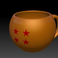 Download 3D printing models Dragon Ball Cup - Dragon Ball Mug, JoacoKin