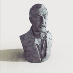 Download 3D printer files Saint Martin - Modeling from daguerreotype, JoacoKin