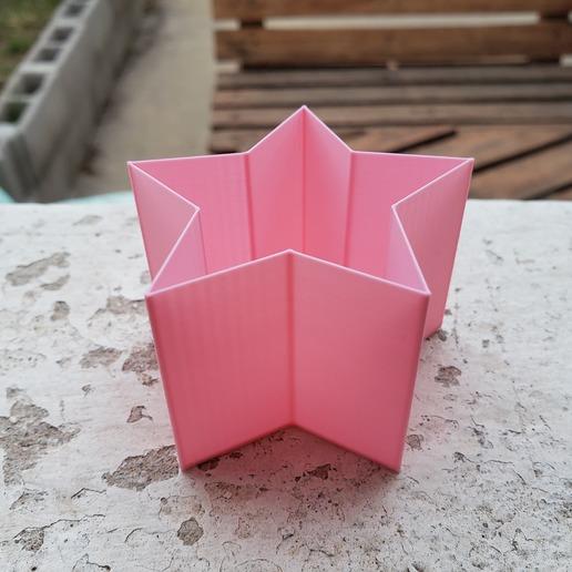 Télécharger fichier STL gratuit Vase à spirale Planter Star • Modèle imprimable en 3D, PolacoJNM