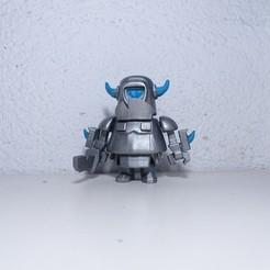 Impresiones 3D Figure of mini PEKKA Clash Royale, JuanMA