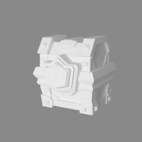 cofre magic big1.png Download STL file Chest of Clash Royale • 3D printable model, JuanMA