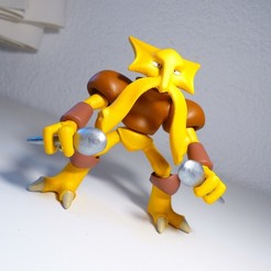 Télécharger fichier 3D Figure of Alakazam Pokemon, JuanMA