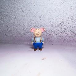 Descargar archivo 3D Figura de Oolong en la pelota del Dragón, JuanMA