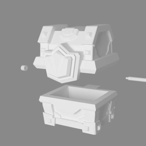 cofre magic big2.png Download STL file Chest of Clash Royale • 3D printable model, JuanMA