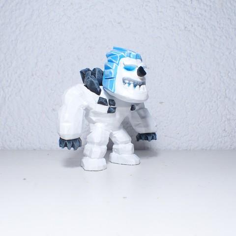 Fichier impression 3D Figure du GOLEM des glaces dans Clash Royale, JuanMA