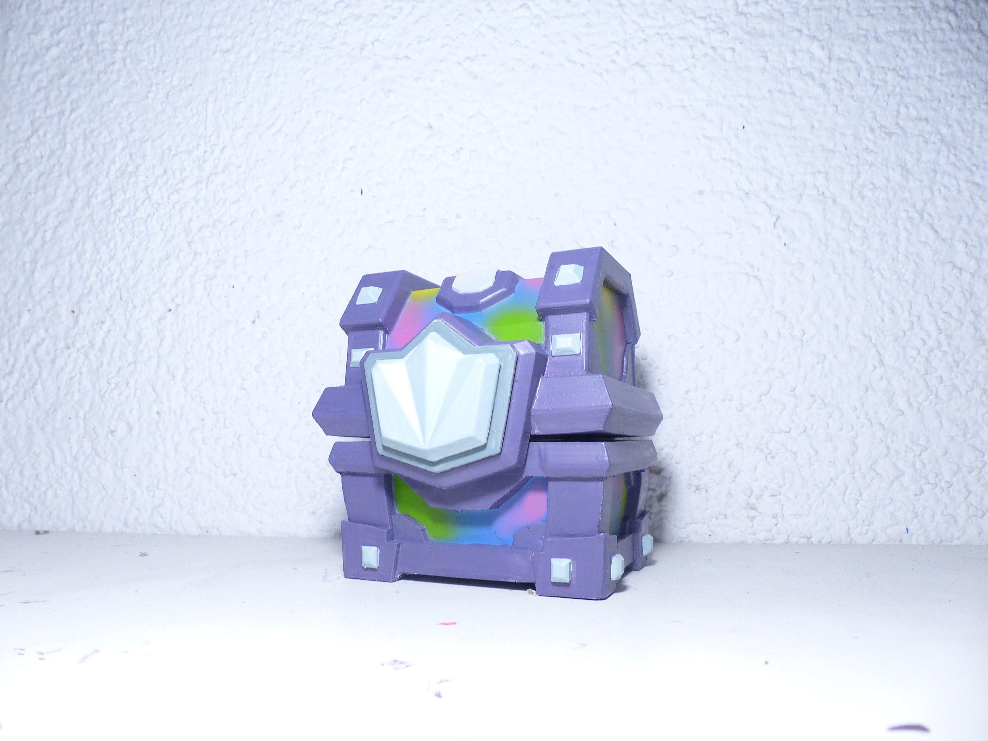 L1070656.JPG Download STL file Chest of Clash Royale • 3D printable model, JuanMA