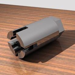 Download 3D printing designs Toilet Cover Key, Gemelandio
