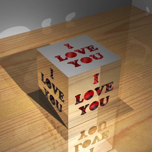 Télécharger fichier STL gratuit Le cube de l'amour, Gemelandio