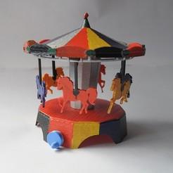 Diseños 3D gratis Carrusel, wjordan819