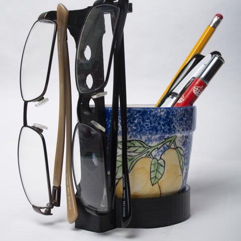 Download free 3D printer model Glasses Holder, wjordan819