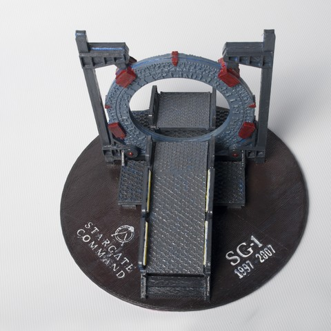DSC_4187.jpg Download free STL file Stargate Base • 3D printable object, wjordan819