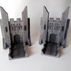 Download free 3D printing templates The Troll Bridge Bookends, wjordan819