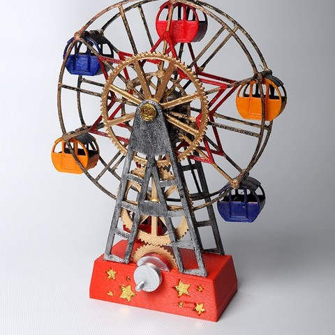 Descargar Modelos 3D para imprimir gratis Rueda de la fortuna, wjordan819