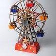 Free 3d model Ferris Wheel, wjordan819