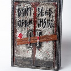 Free STL files Walking Dead - Dead Inside Box, wjordan819