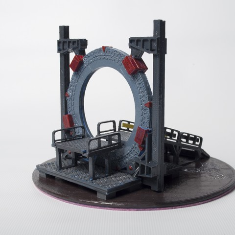 DSC_4189.jpg Download free STL file Stargate Base • 3D printable object, wjordan819