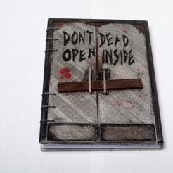 Free STL file Walking Dead - Dead Inside Journal, wjordan819