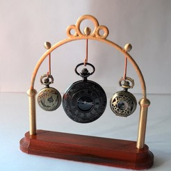 Free 3D file Pocket Watch Stand Mk2, wjordan819