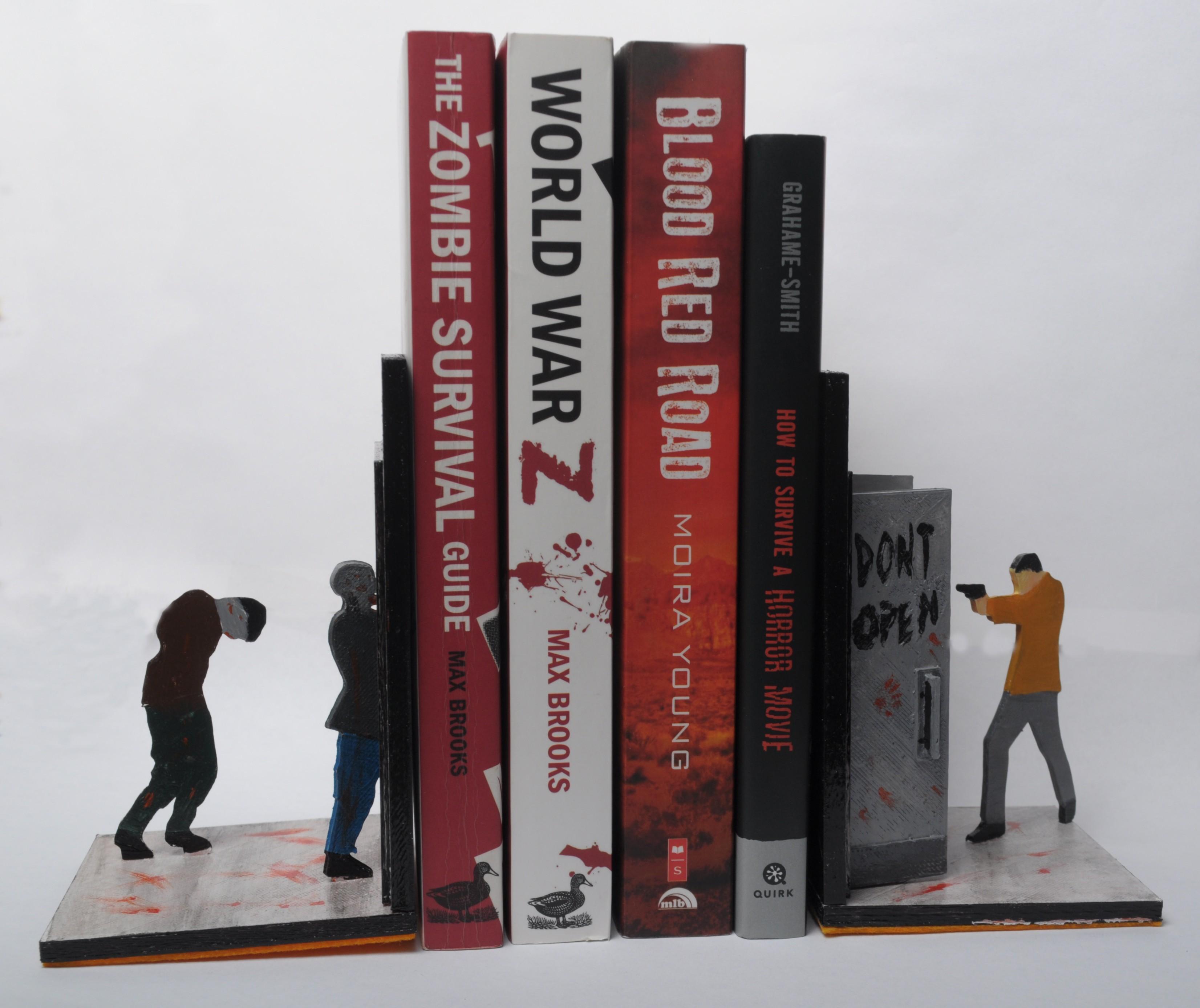 DSC_3777.JPG Download free STL file Walking Dead Book Ends • 3D printable design, wjordan819