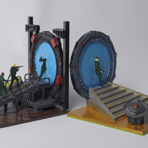 Descargar Modelos 3D para imprimir gratis Apoyalibros Stargate, wjordan819
