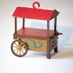 Download free 3D printer model Sweet Cart Christmas Ornament, wjordan819