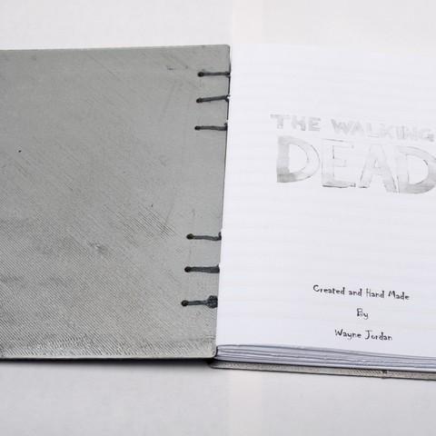 DSC_3738.JPG Download free STL file Walking Dead - Dead Inside Journal • Design to 3D print, wjordan819