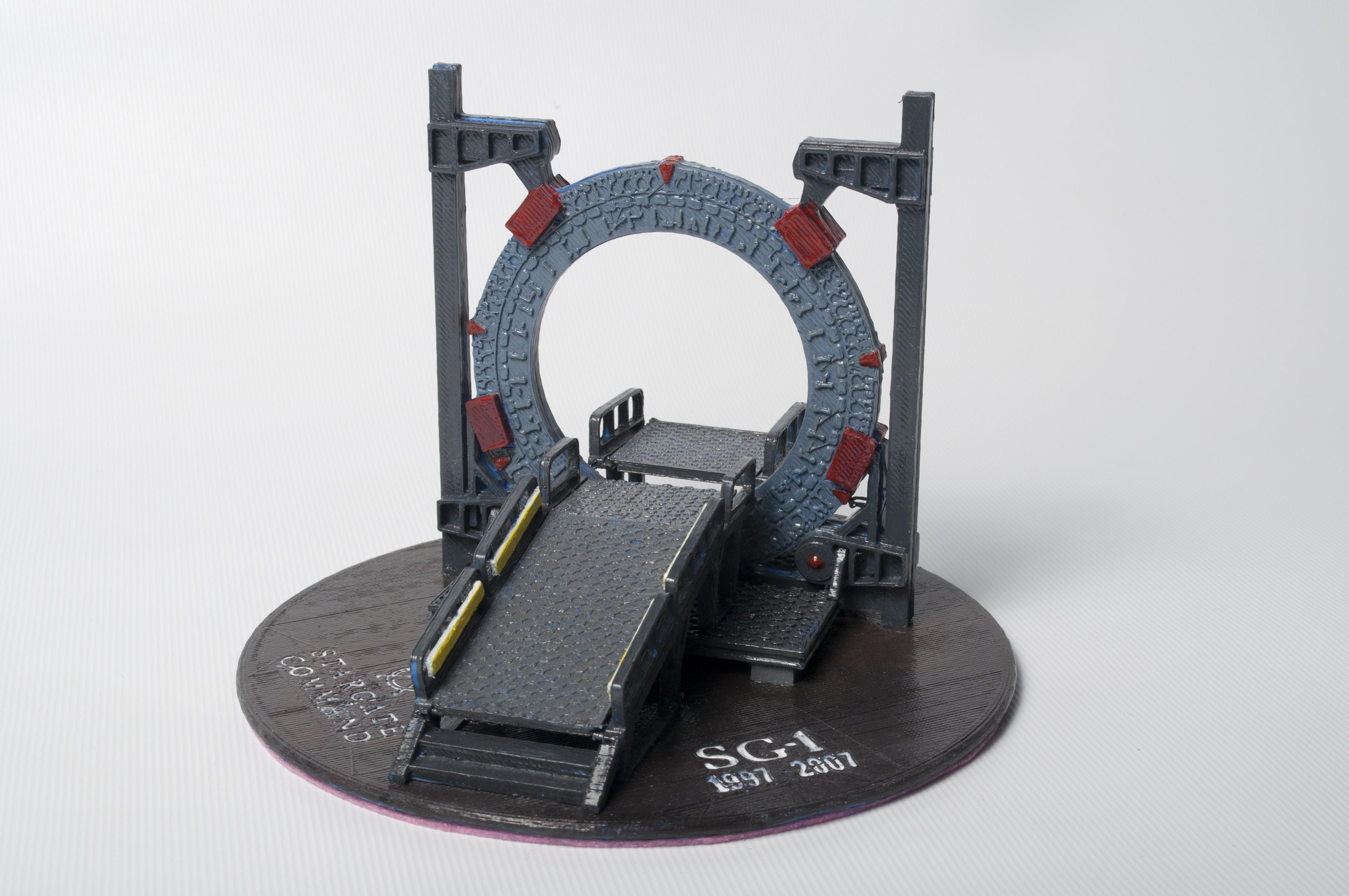 DSC_4186.jpg Download free STL file Stargate Base • 3D printable object, wjordan819