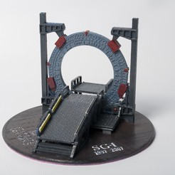 Free 3D print files Stargate Base, wjordan819