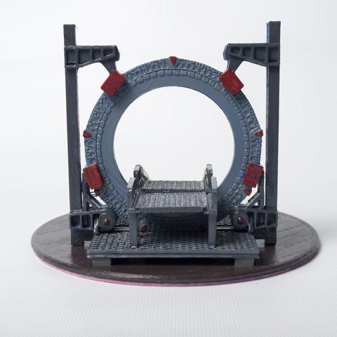 DSC_4190.jpg Download free STL file Stargate Base • 3D printable object, wjordan819