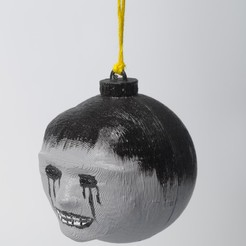 Download free 3D print files Halloween Bauble, wjordan819