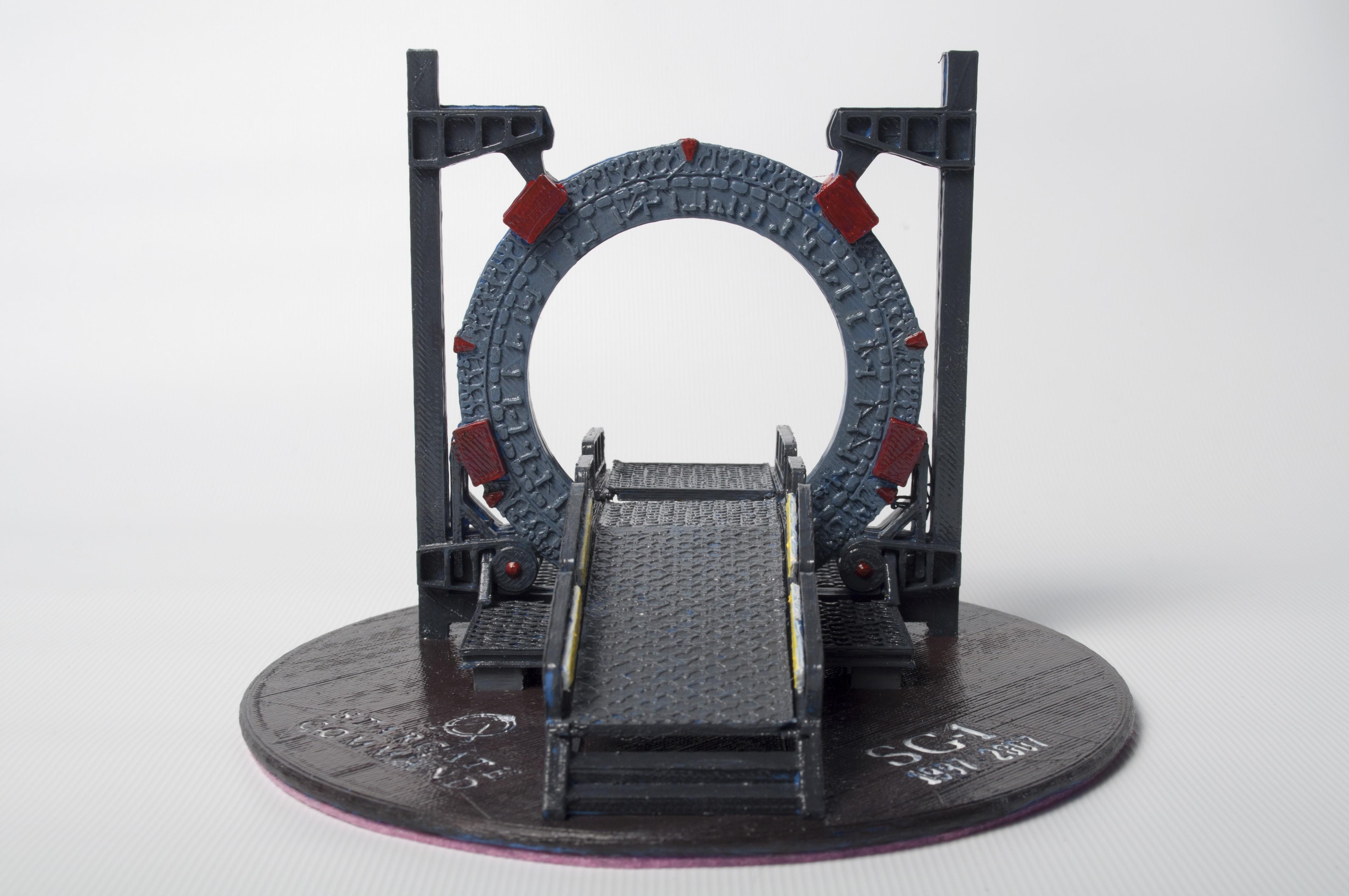 DSC_4188.jpg Download free STL file Stargate Base • 3D printable object, wjordan819