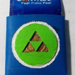 3D printer files Triforce condom pocket, Jtachan