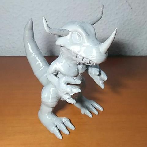 Télécharger fichier imprimante 3D gratuit Greymon, Jtachan