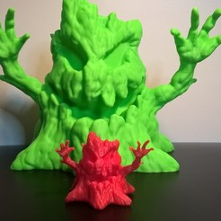 Free 3D printer designs Halloween Creepy tree , JSstudio