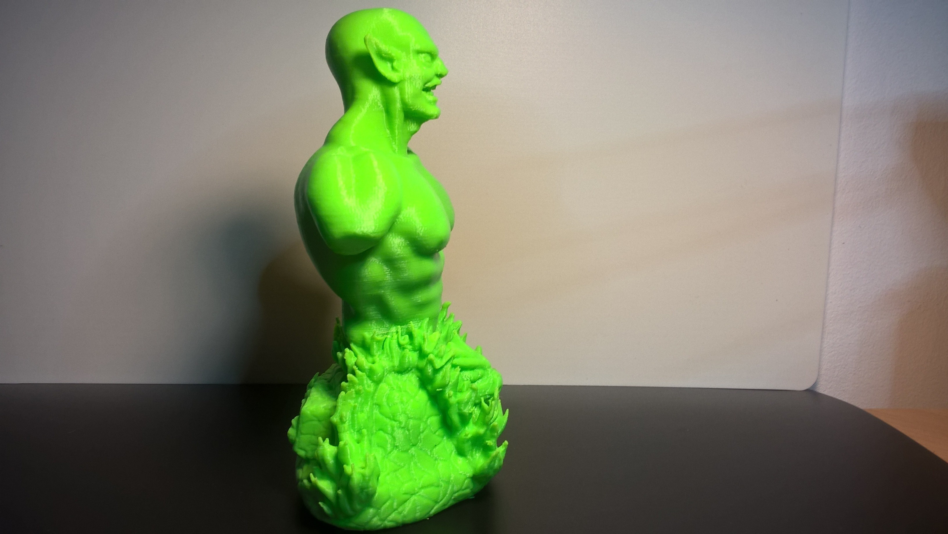 WP_20170930_20_11_00_Pro_LI.jpg Download free OBJ file Goblin bust • 3D printer model, JSstudio