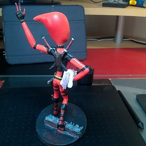 WP_20180603_18_36_38_Rich_LI.jpg Download free STL file Deadpool Figure • 3D print template, JSstudio