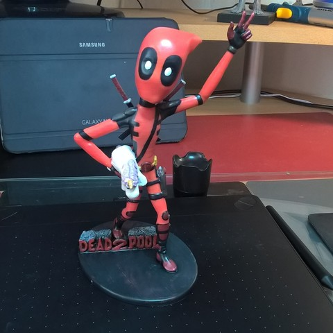WP_20180603_18_35_38_Pro_LI.jpg Download free STL file Deadpool Figure • 3D print template, JSstudio
